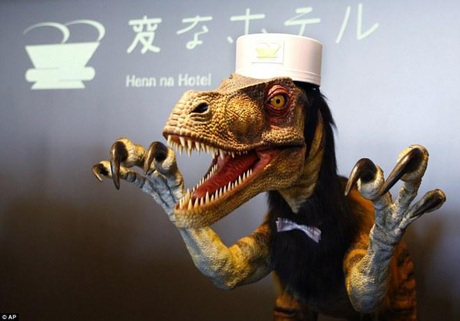 Henn-na Hotel Dinosaur