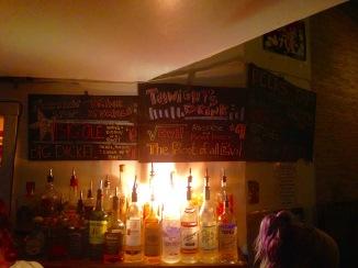 Rickshaw Stop's themed drink of the night (Credit: Krystian Science)
