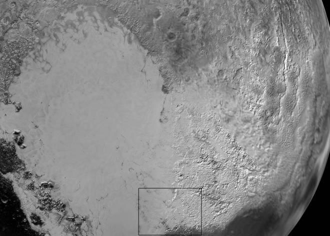 Pluto's 'Heart'. Credits: NASA/JHUAPL/SwRI