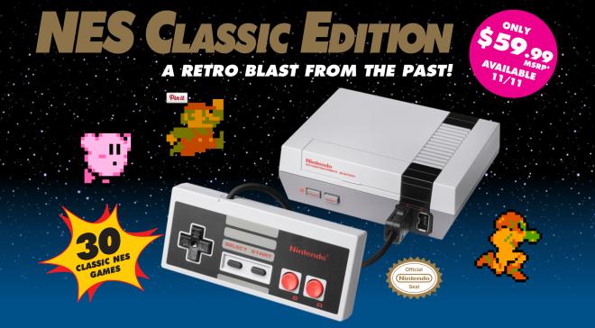 nintendo new classic edition