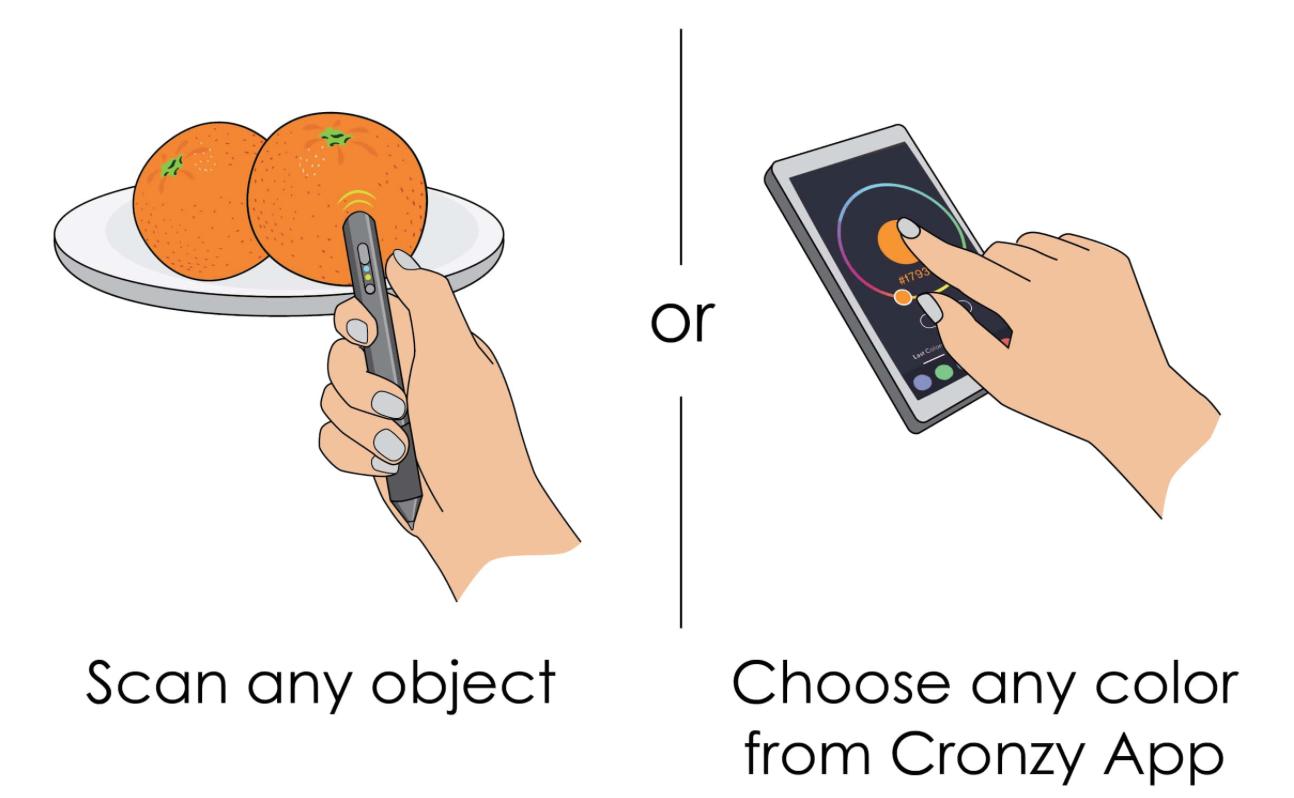 Cronzy Pen Illustration